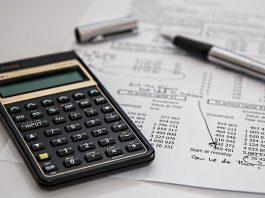 Budgeting, 50-30-20 Rule, Calculator, Pen, Paper