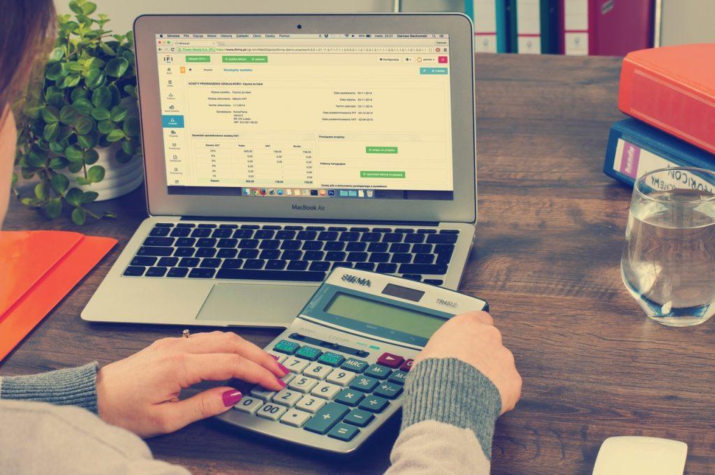 50/20/30 Rule, Calculator, Laptop, Financing Software, Budgeting