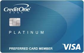 VISA Credit Card, Credit One Credit Card