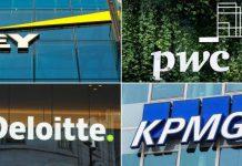 Big 4, Deloitte, PWC, EY, KPMG