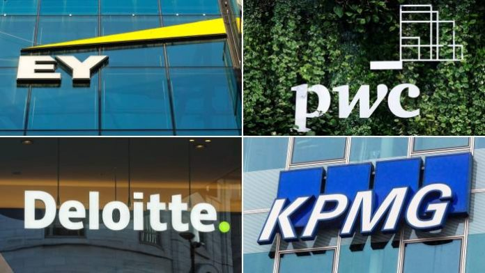 Big 4, Deloitte, PWC, EY, KPMG, Corporate, Dominance, Financial Industry