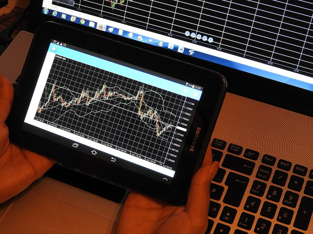 Managing Your Investments, Tablet, Stock Market