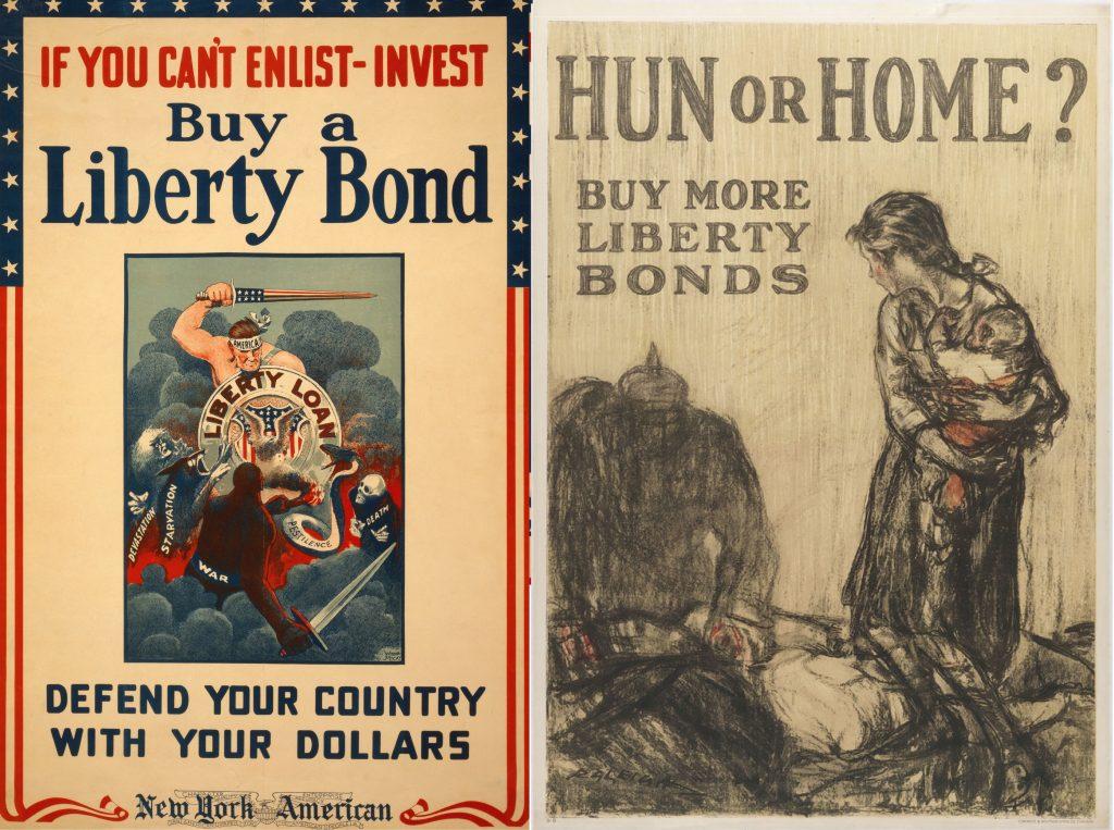 War Bonds, Liberty Bonds, Finance, Purchasing, Investment, Profit