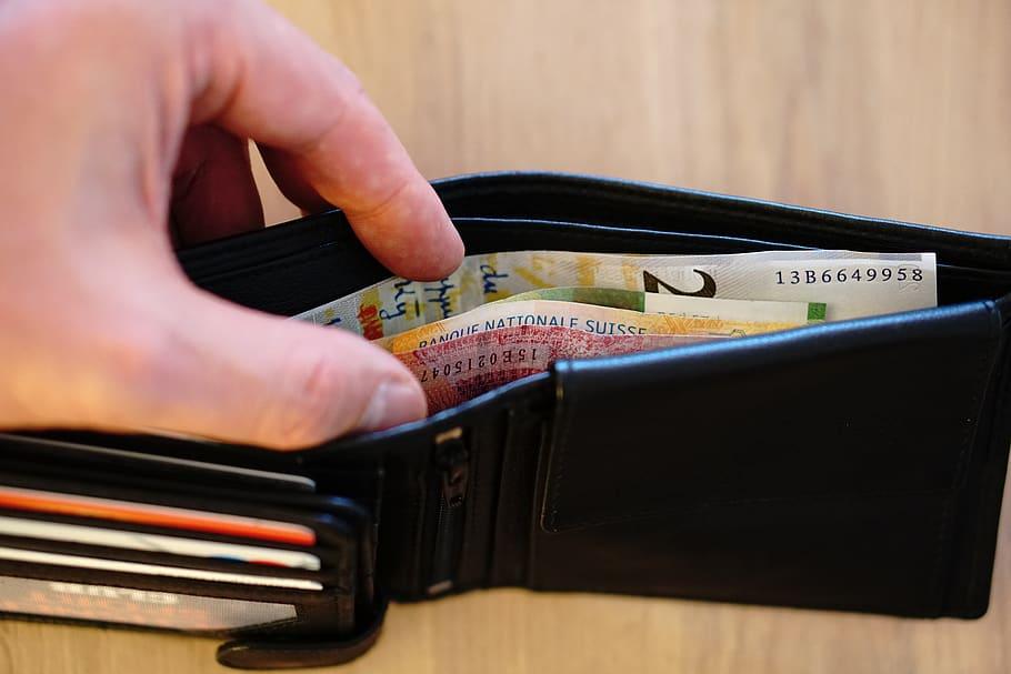 Money, Spending, Wallet, Finance, Buying Habits, Credit Cards