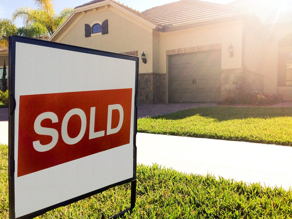 House, Sold, Sign, Tax Abatement, Buying Property