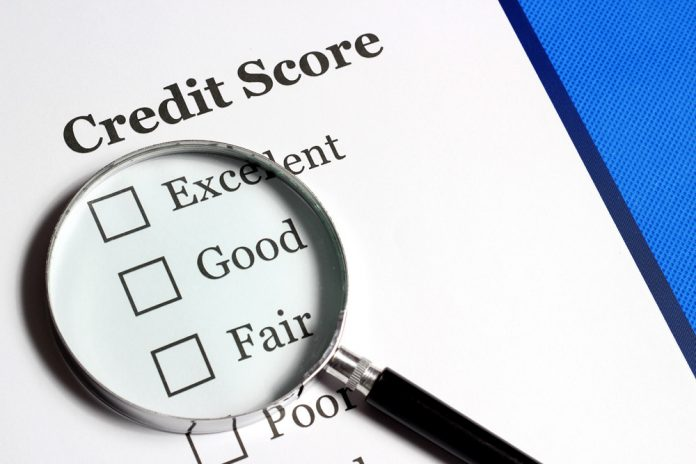 Highest Credit Score, Finance, Accounting, Magnifying Glass