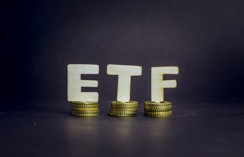 Exchange Traded Fund, ETF, Golden Coins, Investment