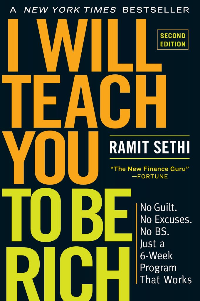 I Will Teach You to Be Rich By Ramit Sethi, Investment Books, Money Tips, Best Finance Books
