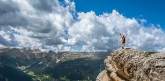 Mountain Top, Inspirational, Achievement, Goal