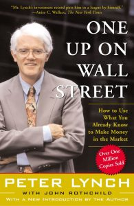 One Up On Wall Street by Peter Lynch, Best Finance Books, Investment Books, Money, Guide
