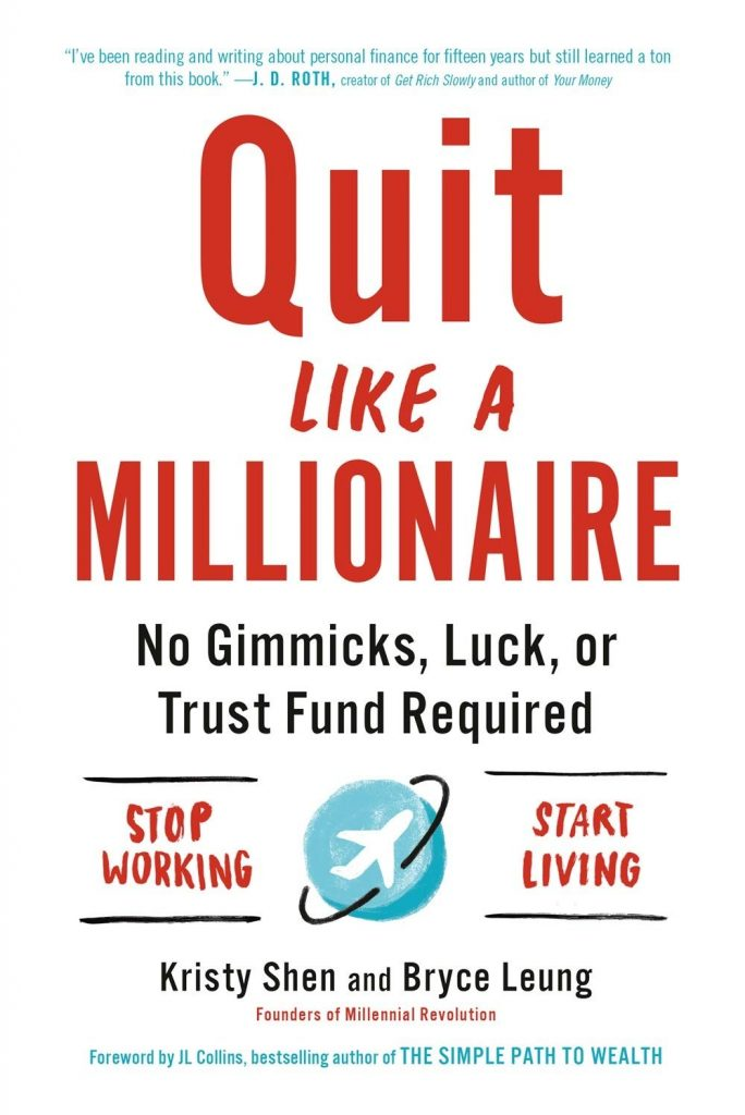 Quit Like a Millionaire By Kristy Shen, Investment Books, Best Finance Books, Money, Guide