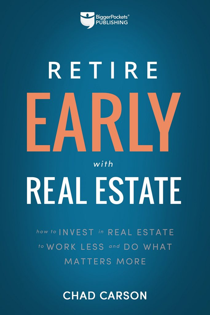 Retire Early With Real Estate By Chad Carson, Finance Books, Investment Books, Money, Guide