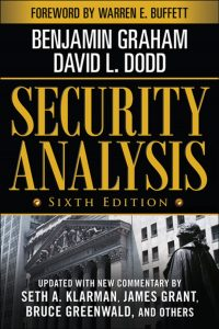 Security Analysis By Benjamin Graham, Finance Books, Investment Books, Money, Guide