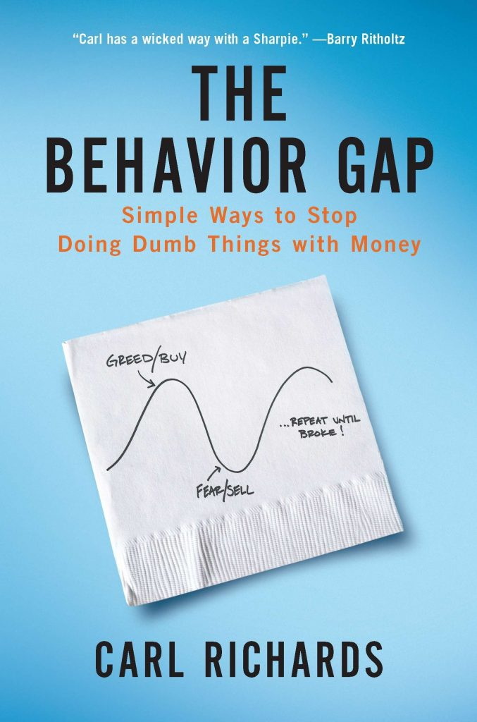 The Behavior Gap By Carl Richards, Finance Books, Investment Books, Money, Guide