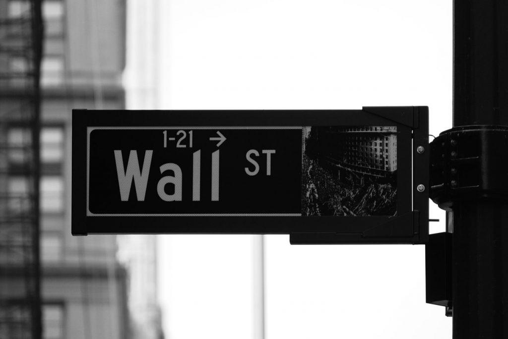 Wall Street Sign, Stock Market, Brokerage, Finance