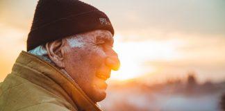 Old Man, Sunset, Retirement Savings, Money, Finance